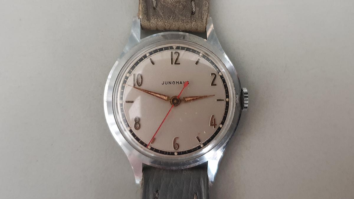 Junghans horloge glas
