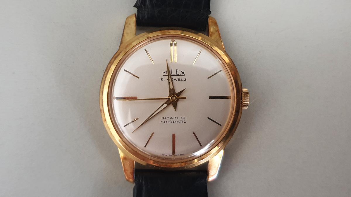Milex horloge glas