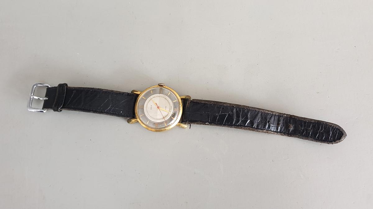 Monté horloge bovenkant