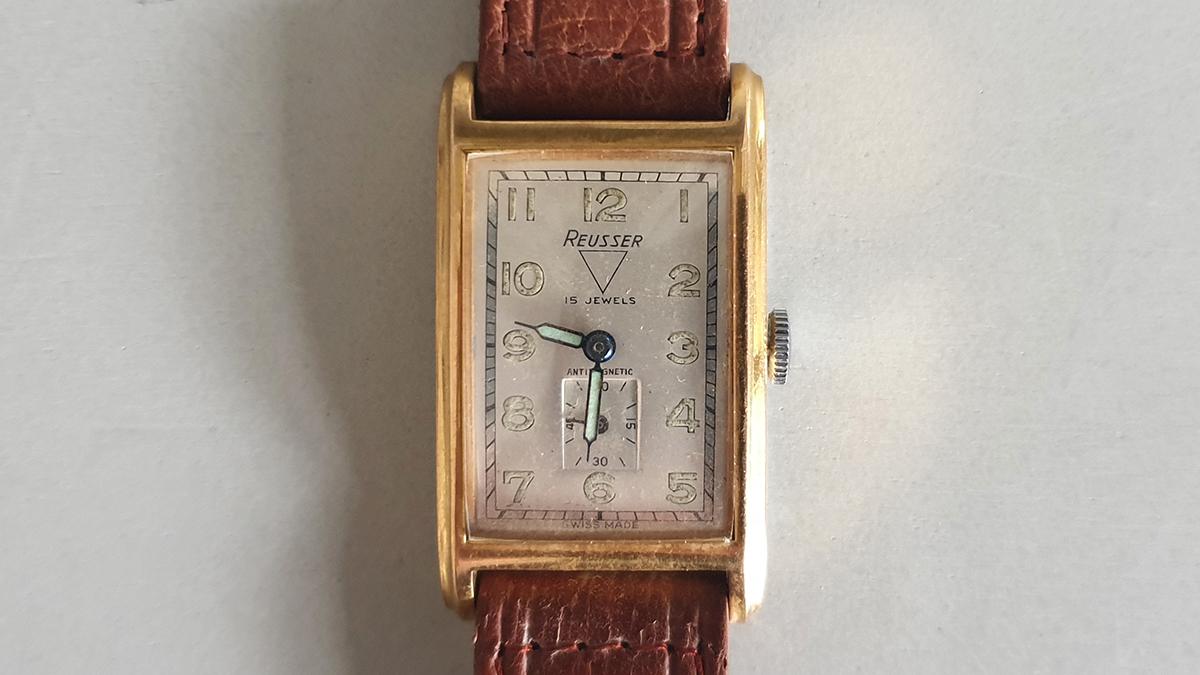 Reusser horloge glas