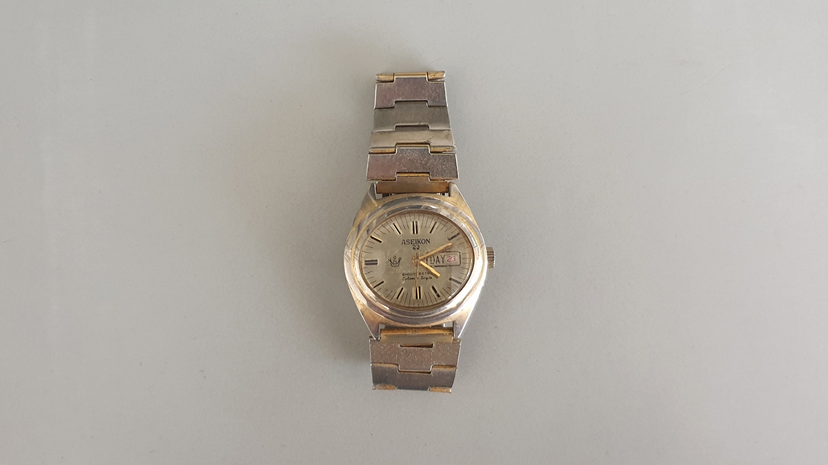 Aseikon 23 horloge main