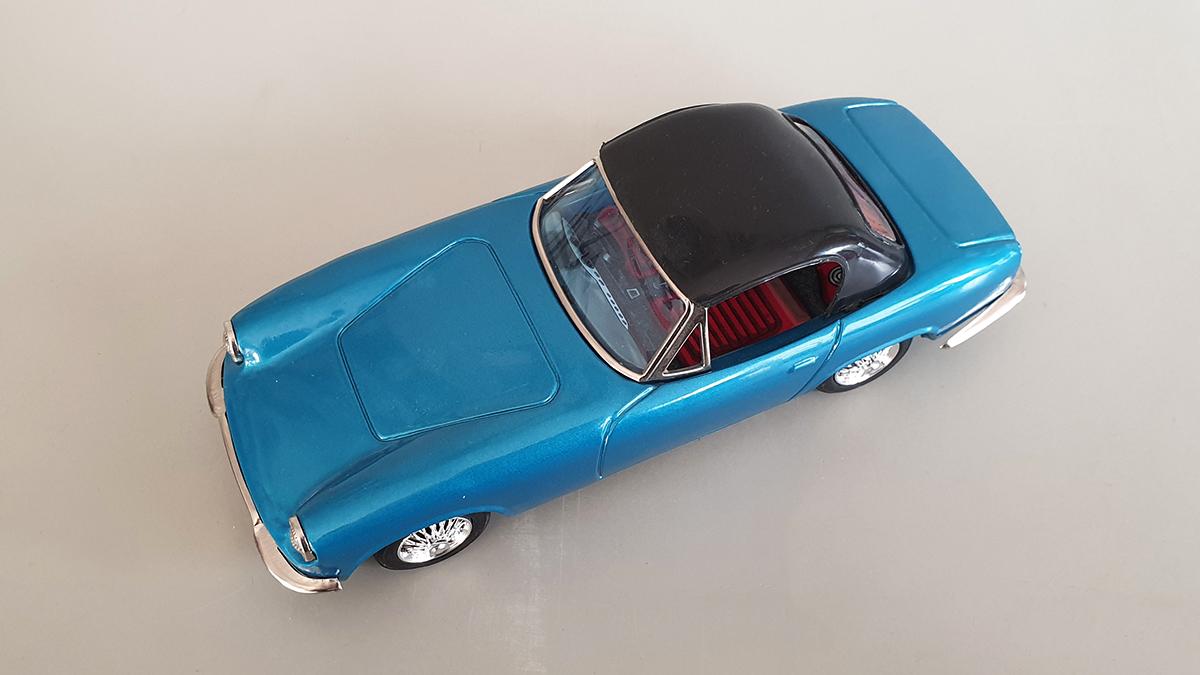 Lotus auto bovenkant