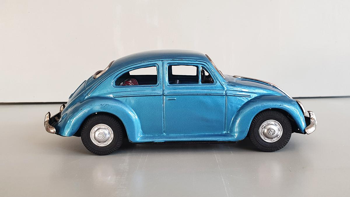 Volkswagen auto zijkant
