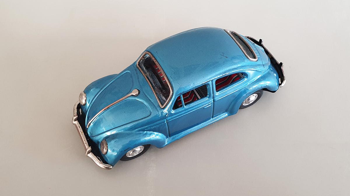 Volkswagen auto bovenkant
