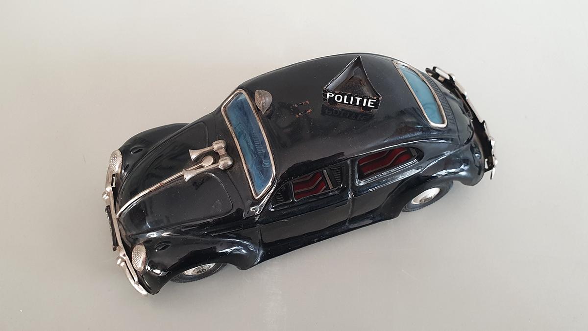 Volkswagen politieauto bovenkant