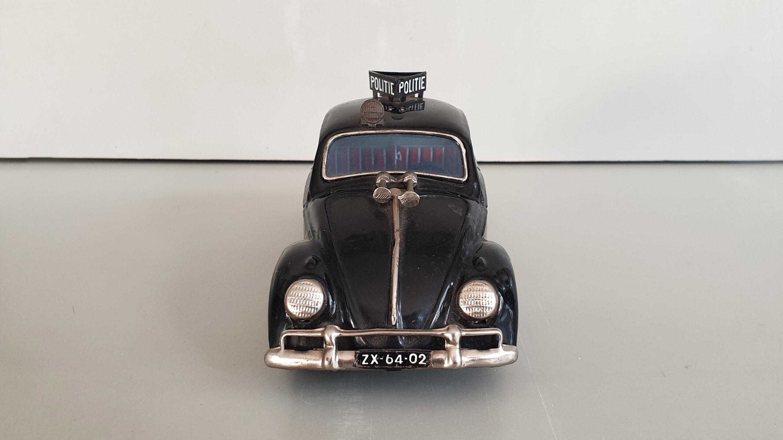 Volkswagen politieauto voorkant