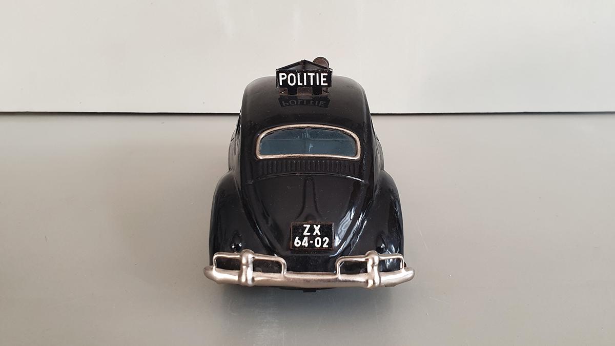 Volkswagen politieauto achterkant