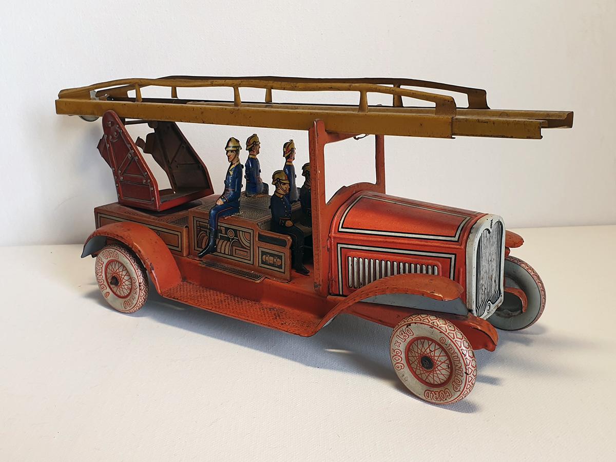 TippCo 1930's brandweerwagen 3/4 side 2