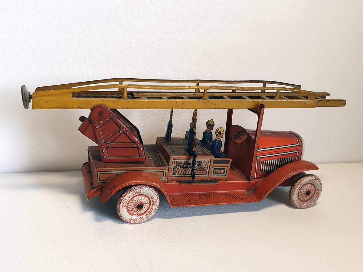 TippCo 1930's brandweerwagen back