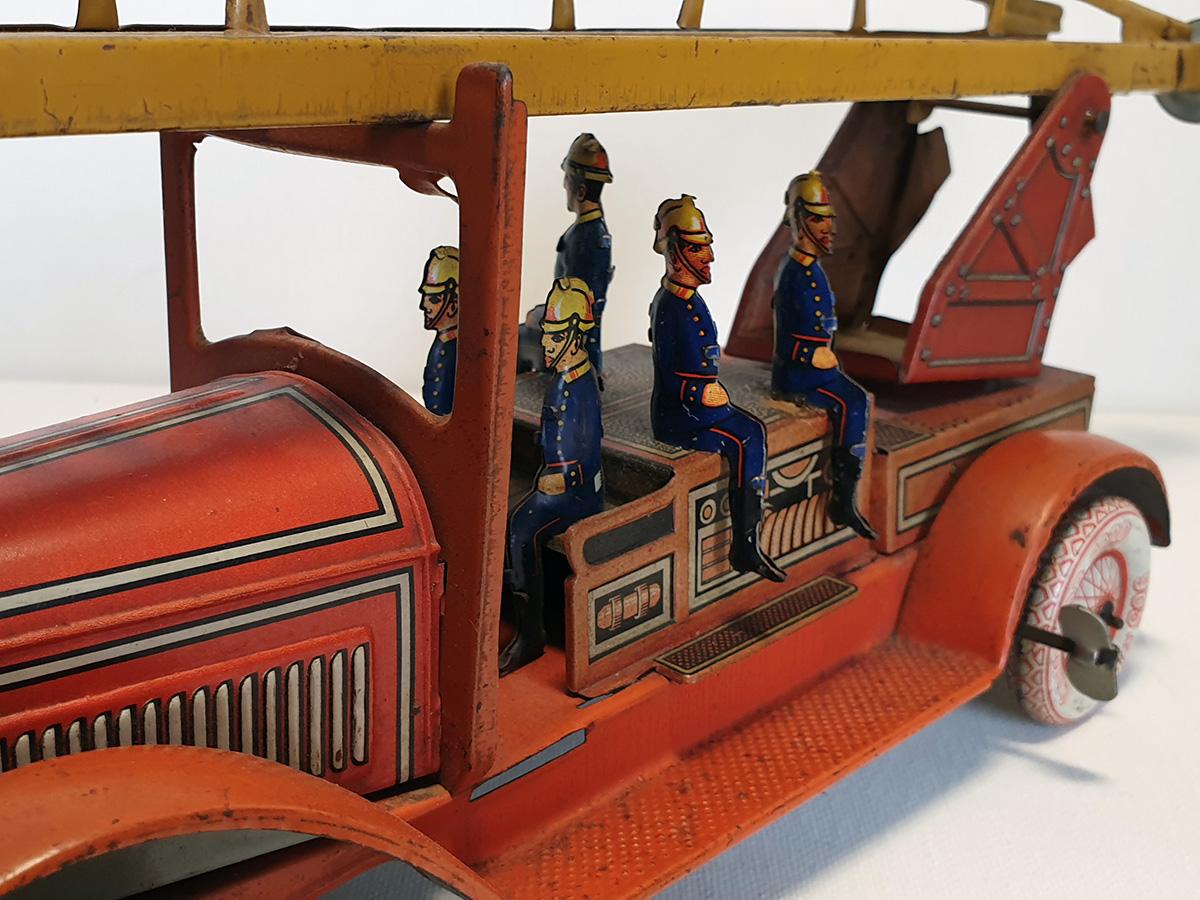 TippCo 1930's brandweerwagen detail
