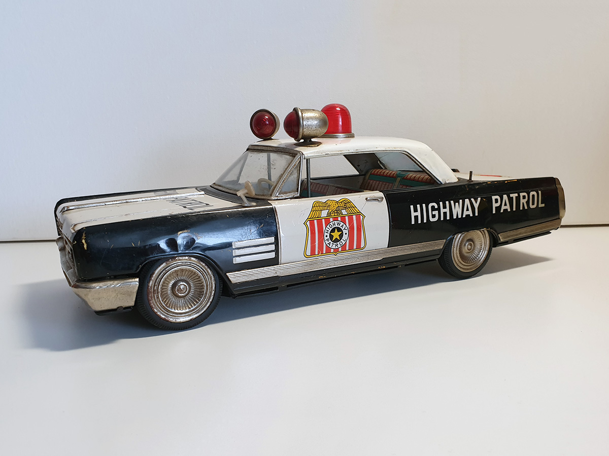 Ichiko Buick Highway Patrol auto 3/4