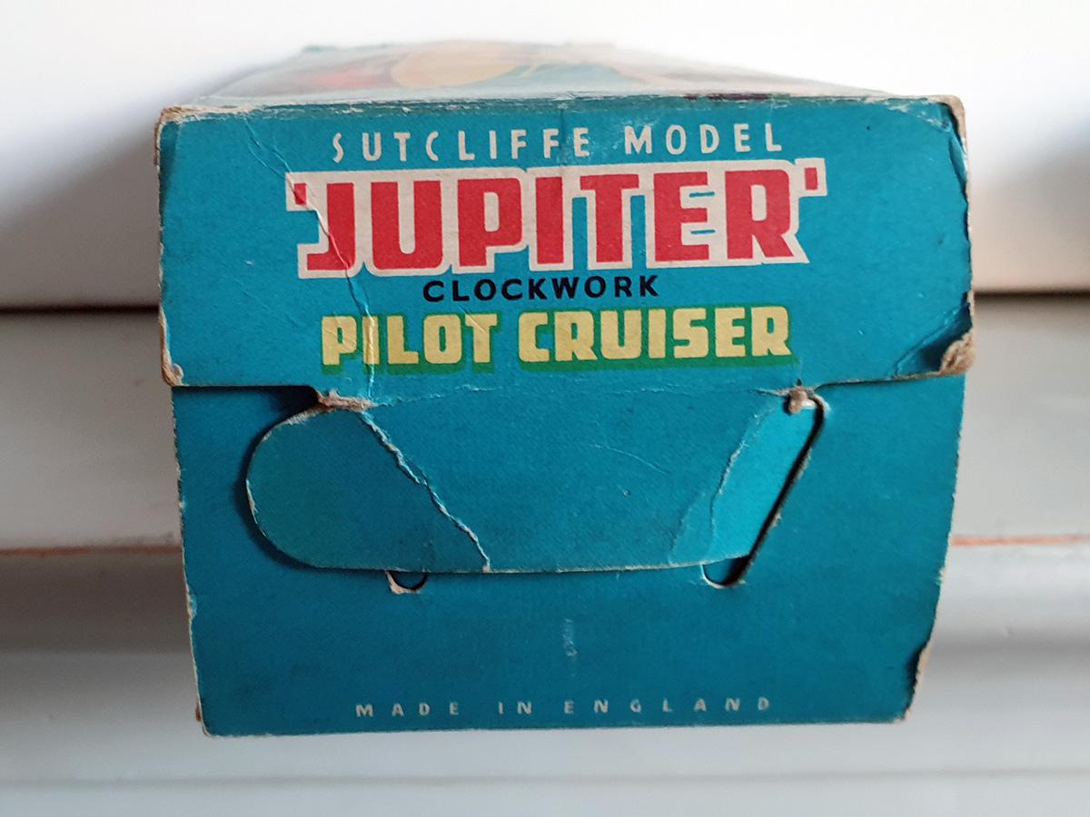 Sutcliffe Jupiter clockwork Ocean Pilot Cruiser box side