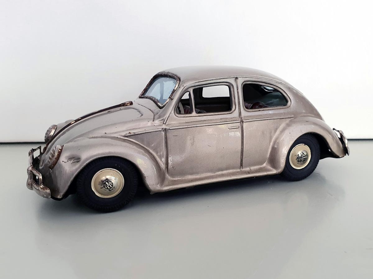 Bandai Volkswagen auto goud main