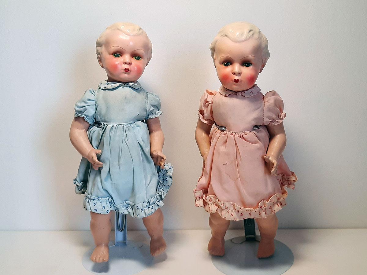 Gespoten porseleinen poppen Duitsland main