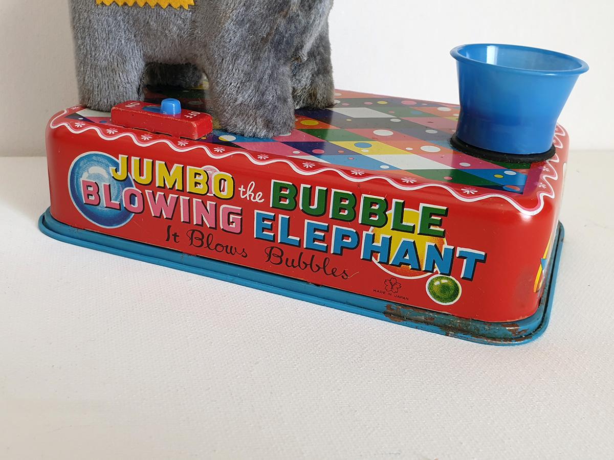 Jumbo The Bubble Blowing Elephant bottom