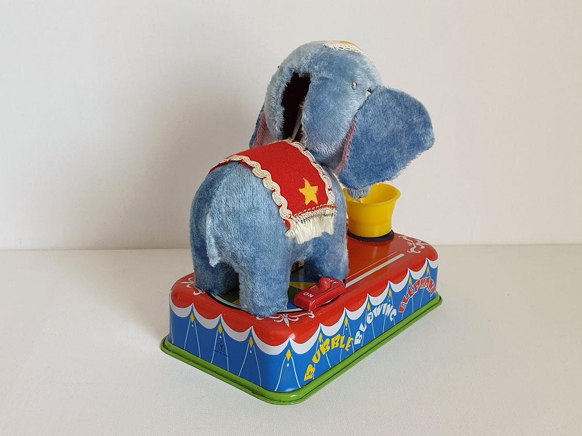 Yonezawa Jumbo the Bubble Blowing Elephant back