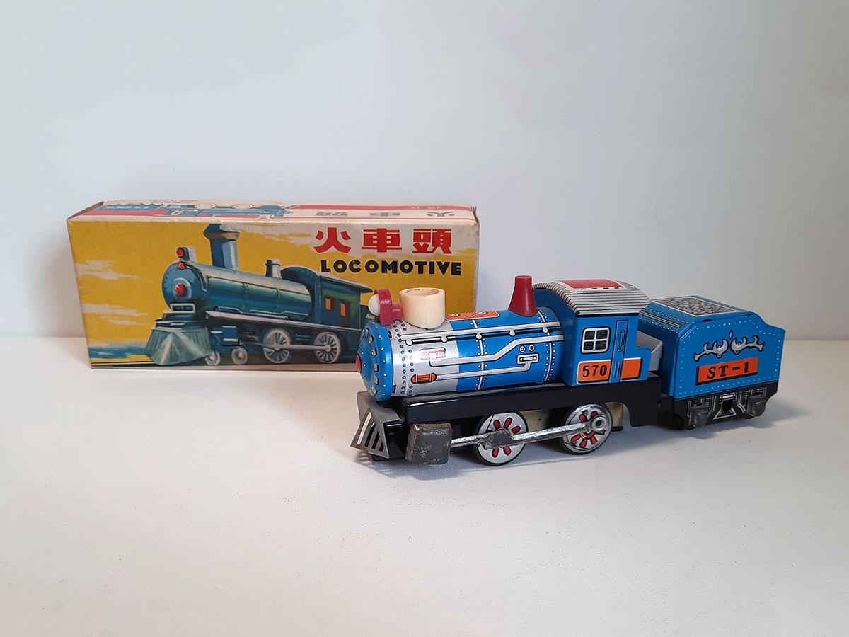 Locomotive MF 712 China main