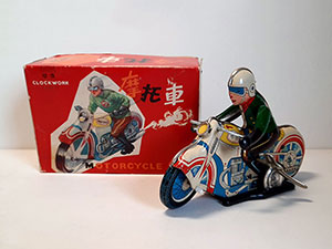 Clockwork Motorcycle MS 702 China thumbnail