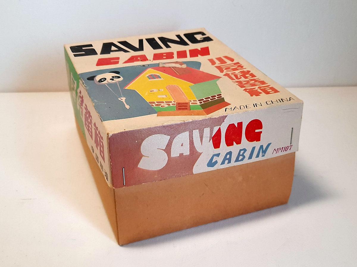Saving Bank MM 107 China box side 1