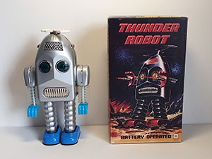 Ha Ha Toy TR-2015 Thunder Robot thumbnail