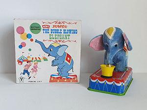 Yonezawa Jumbo the Bubble Blowing Elephant thumbnail