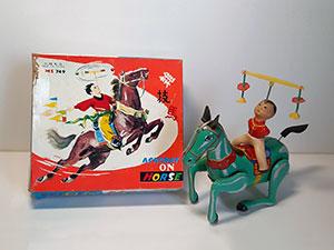 Acrobat on Horse MS 749 China thumbnail