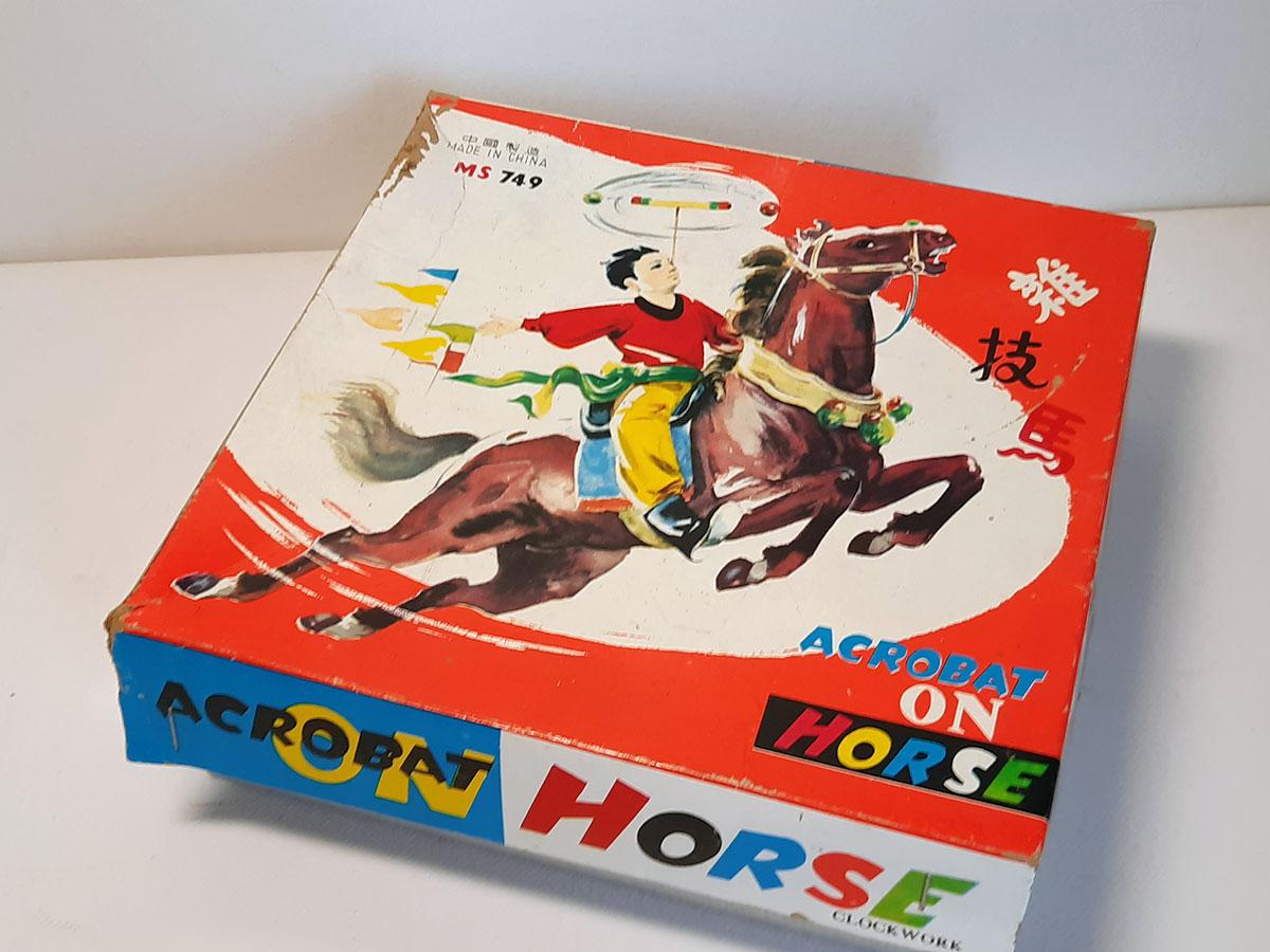 Acrobat on Horse MS 749 China box main