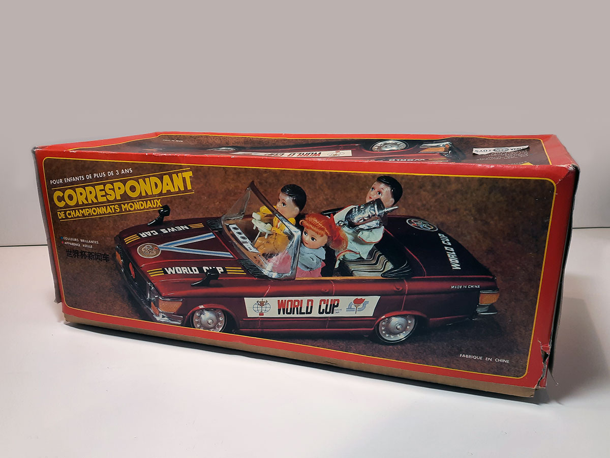 World Cup News Car ME 611 China box side 1