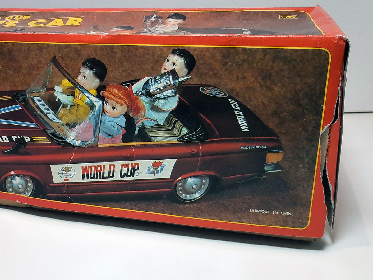 World Cup News Car ME 611 China box detail