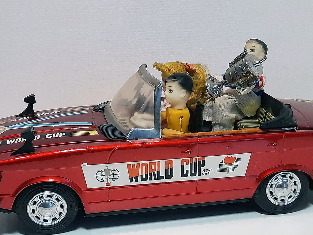 World Cup News Car ME 611 China detail