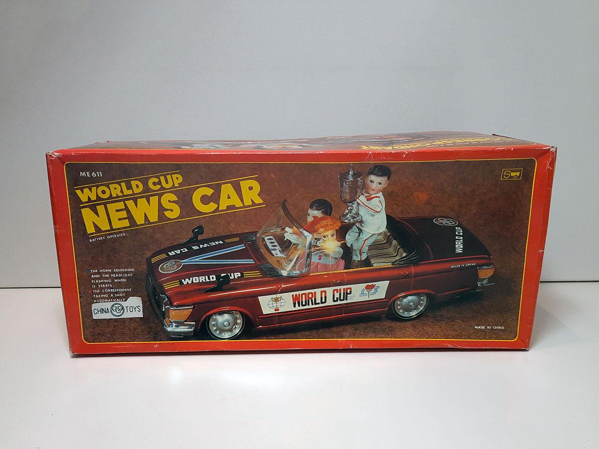 World Cup News Car ME 611 China box main