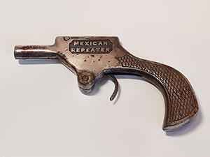 Cast iron pistool Mexican Repeater USA thumbnail