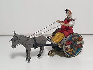 Lehmann Balky Mule - Clown met koppige ezel thumbnail