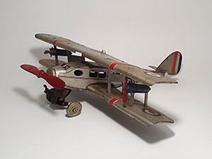 Mettoy RAF dubbeldekker vliegtuig thumbnail