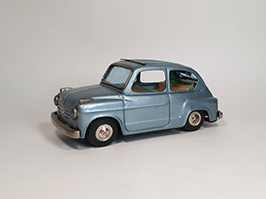 Bandai Fiat 600 thumbnail