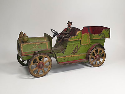 Dayton 1905 cast iron touring car thumbnail